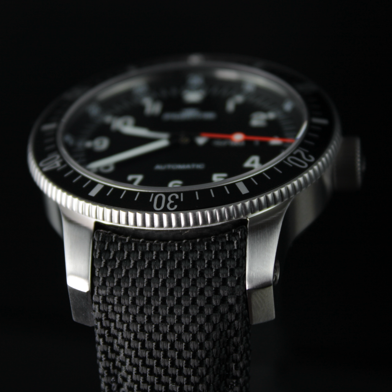 Fortis OFFICIAL COSMONAUTS DAY-DATE, 647.10.11 mit Cordura