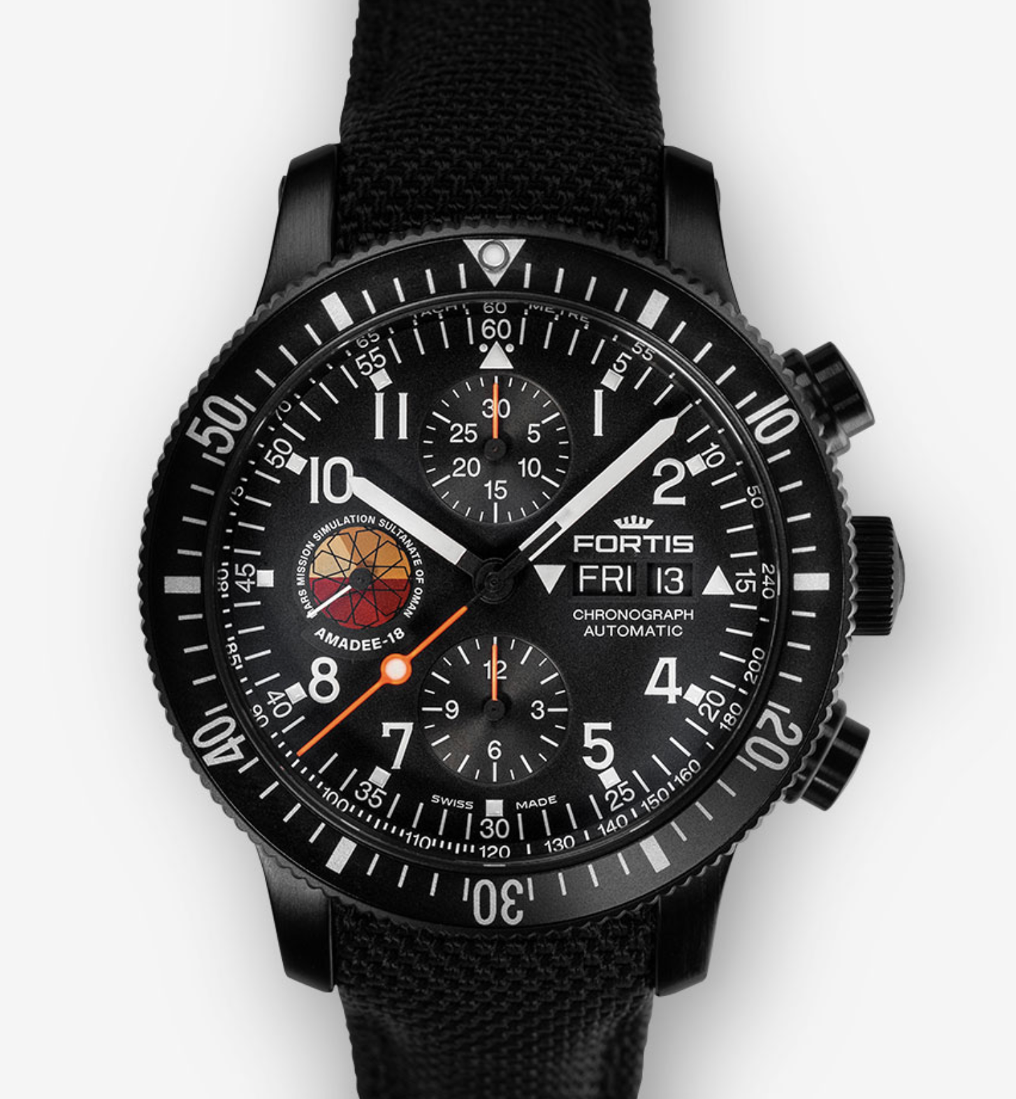 FORTIS OFFICIAL COSMONAUTS AMADEE-18, 638.18.91