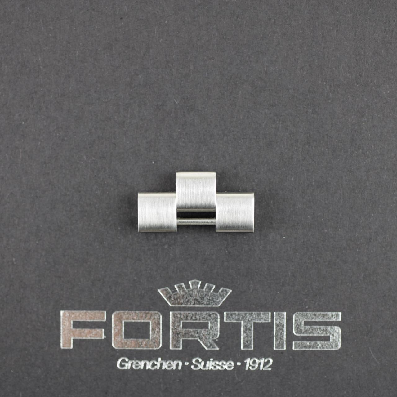 Fortis B-42 / F43 Ersatzglied Edelstahl gebürstet